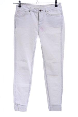 Mango Slim Jeans weiß Casual-Look