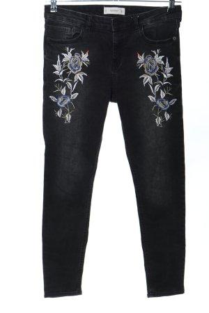 Mango Slim Jeans schwarz Casual-Look