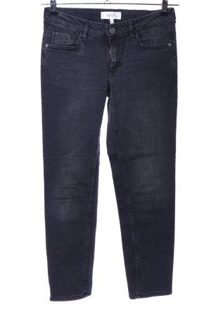Mango Slim Jeans black casual look