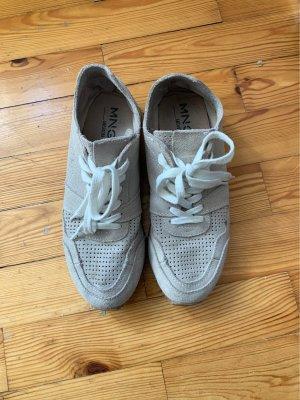 Mango Sneaker Leder