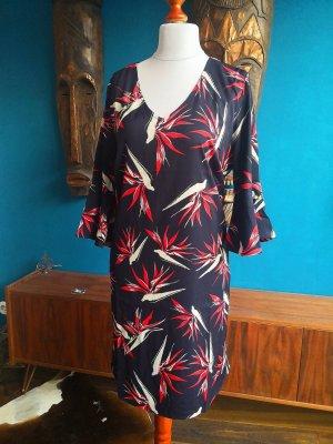 Mango Sommer-Kleid floral boho 42