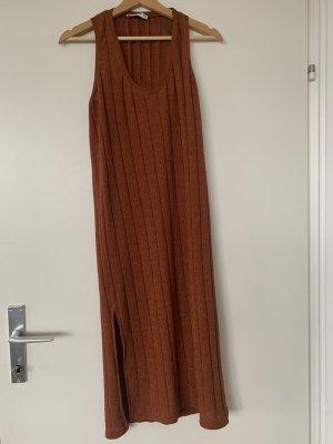 Mango Sommerkleid, Kupferfarbe, GR. 6, 6 EUR