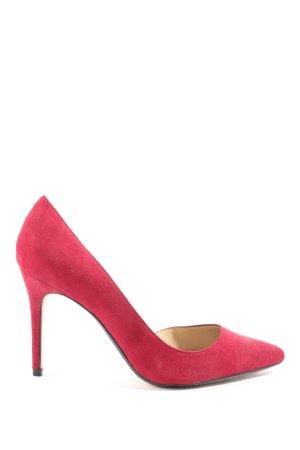 Mango Spitz-Pumps pink Elegant