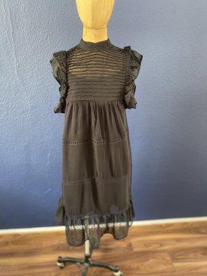 Mango Spitzen Kleid mit Unterkleid Gr S top