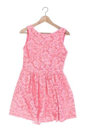 Mango Vestido de encaje rosa claro-rosa-rosa-rosa neón