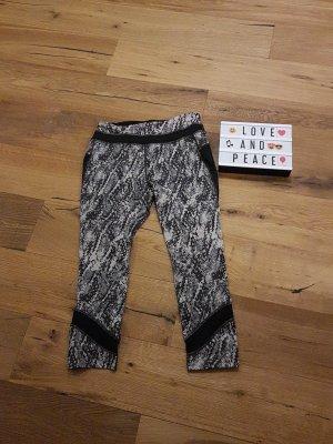 Mango Pantalon noir-gris