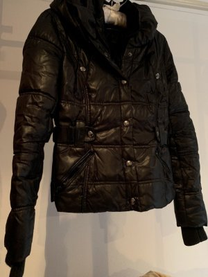 Mango Casual Sportswear Quilted Jacket black