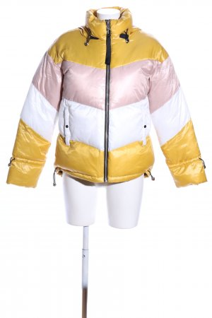 Mango Quilted Jacket allover print casual look