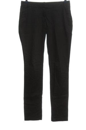 Mango Pantalon en jersey noir style décontracté