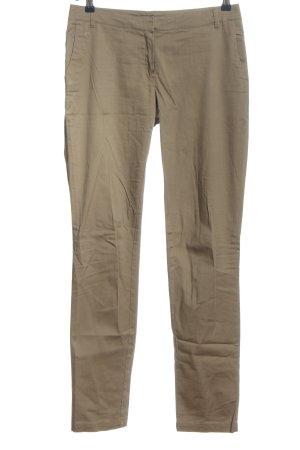 Mango Pantalon en jersey brun style décontracté