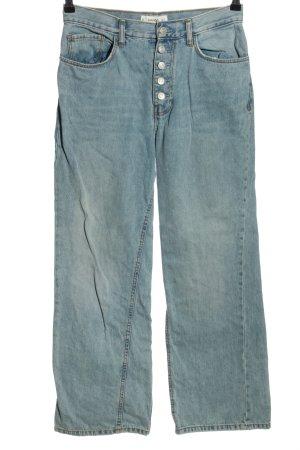 Mango Straight-Leg Jeans blau Casual-Look