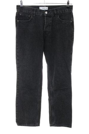 Mango Straight-Leg Jeans schwarz Casual-Look