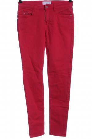 Mango Stretch Jeans rot Casual-Look