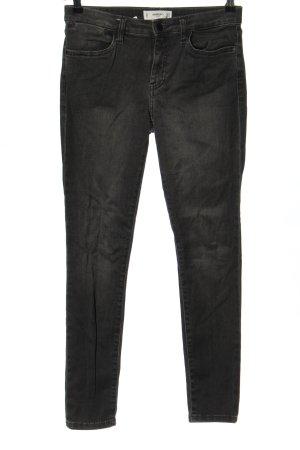 Mango Stretch Jeans schwarz Casual-Look
