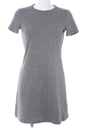 Mango Stretchkleid schwarz-wollweiß schlichter Stil
