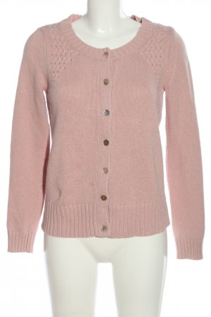 Mango Strick Cardigan pink Casual-Look