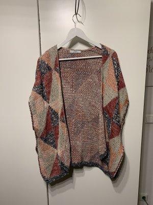 Mango Strickjacke Cape Poncho oversized Jacke Pullover one size