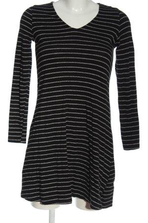 Mango Abito di maglia nero-grigio chiaro stampa integrale stile casual