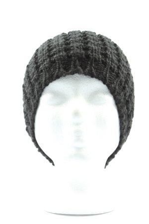 Mango Cappello a maglia nero stile casual