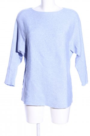 Mango Knitted Sweater blue casual look