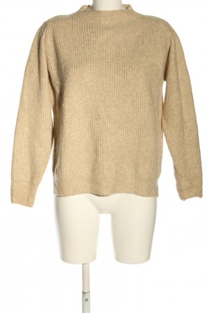Mango Strickpullover wollweiß Casual-Look