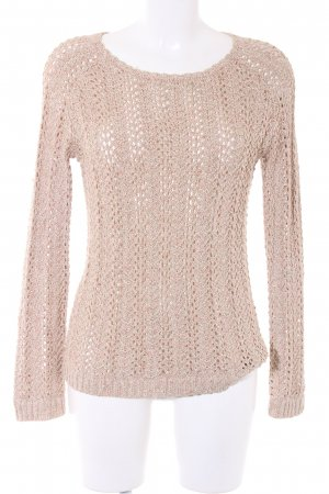 Mango Strickpullover goldfarben Casual-Look