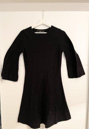 Mango Strickpullover Kleid Schwarz S