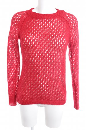 Mango Strickpullover rot Casual-Look