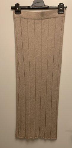 Mango Knitted Skirt beige