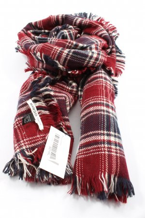Mango Knitted Scarf allover print casual look