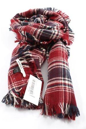 Mango Écharpe en tricot imprimé allover style décontracté