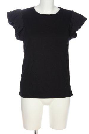 Mango Strickshirt schwarz Casual-Look
