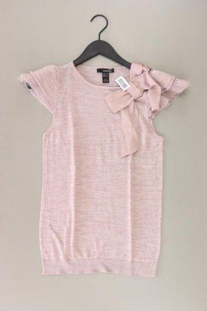 Mango Strickshirt Größe L Kurzarm rosa
