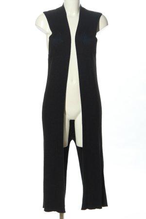 Mango Gilet tricoté noir style décontracté