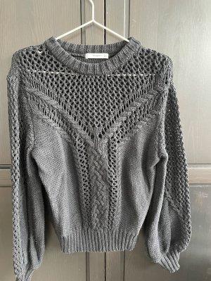Mango Knitted Sweater black
