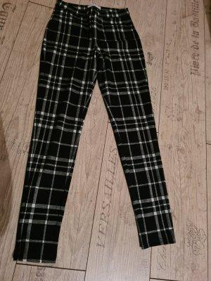 Mango Suit Spodnie ze stretchu czarny