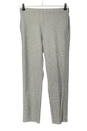 Mango Suit 7/8-broek zwart-wit geruite print casual uitstraling