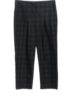 Mango Suit Pantalon 7/8 bleu motif à carreaux style décontracté