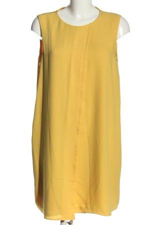 Mango Suit A-Linien Kleid blassgelb Casual-Look