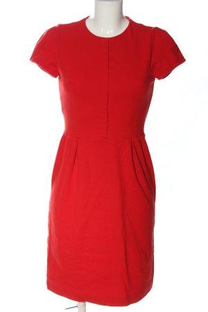 Mango Suit A-Linien Kleid rot Casual-Look