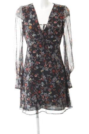Mango Suit Vestido línea A estampado floral estilo romántico