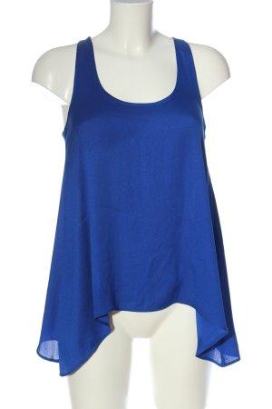Mango Suit Top o kroju litery A niebieski W stylu casual