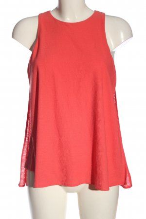 Mango Suit Top o kroju litery A czerwony W stylu casual