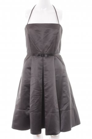 Mango Suit Abendkleid grau-magenta Elegant