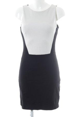 Mango Suit Abendkleid schwarz-weiß Business-Look