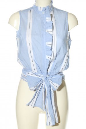Mango Suit ärmellose Bluse Streifenmuster Casual-Look