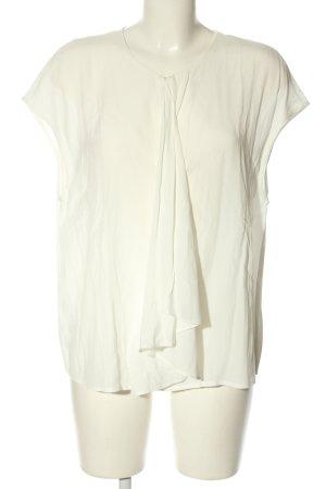 Mango Suit ärmellose Bluse wollweiß Casual-Look