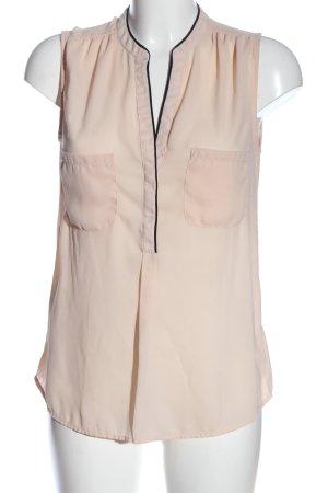 Mango Suit ärmellose Bluse nude Casual-Look
