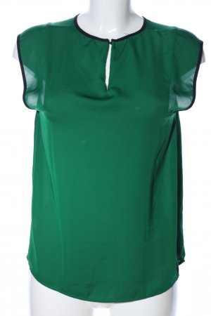 Mango Suit ärmellose Bluse grün Casual-Look