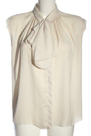 Mango Suit ärmellose Bluse wollweiß Business-Look